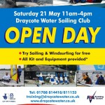 Draycote Water Sailing Club Open Day