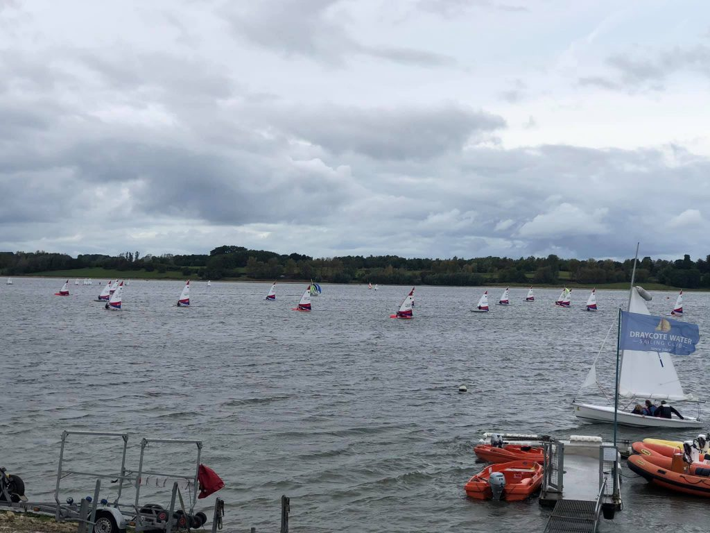 RYA Regional Junior Champs at Draycote Water Sailing Club