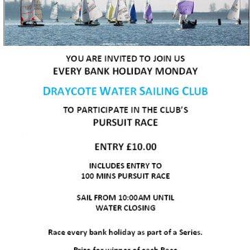 DWSC Bank Holiday Monday Pursuit Race series
