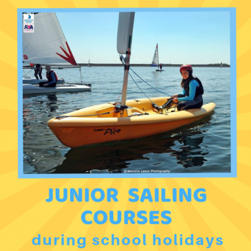 School Holiday Sailing Courses