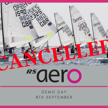 RS Aero demo day – Cancelled