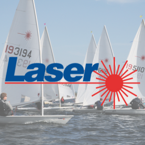 lasers fleet sailing at Draycote Water Sailing Club
